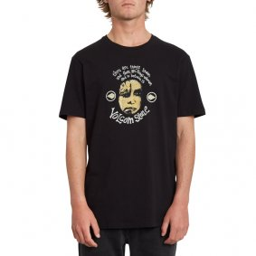 Triko - VOLCOM In Between Ltw Ss - Black