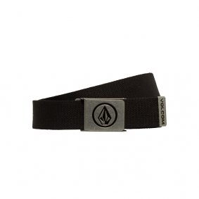 Pásek - VOLCOM Circle Web Belt - Black