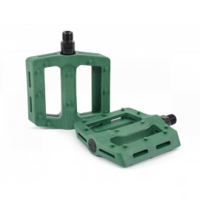 Pedály BMX - SHADOW Surface Plastic - British Racing Green