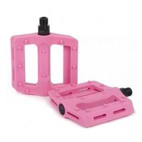 Pedály BMX - SHADOW Surface Plastic - Pink