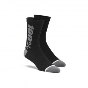 Ponožky - 100% Rythym Merino Performance 2020 - Black/Grey