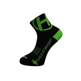 Ponožky - HAVEN Lite Silver Neo - Black/Green 2...
