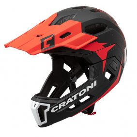 Přilba - CRATONI C-Maniac 2.0 MX 2020 - Black/Red Matt