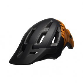 Přilba MTB - BELL Nomad 2019 - Mat Black/Orange Hash
