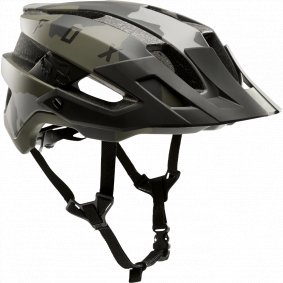 Přilba MTB - FOX Flux Helmet 2019 - Green Camo