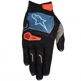 Rukavice - ALPINESTARS Drop PRO 2020 - Poseidon Blue/Energy Orange