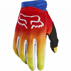 Rukavice - FOX Dirtpaw Fyce 2020 - Blue/Red