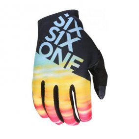 Rukavice - SIX SIX ONE Raji Glove - tie dye