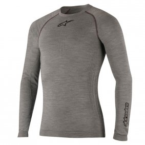 Technické triko - ALPINESTARS Tech Top Long Sleeve Winter - melage Grey / Black