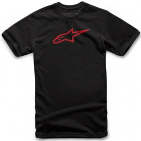 Triko - ALPINESTARS Ageless Classic Tee 2019 - Black/red
