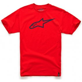 Triko - ALPINESTARS Ageless Classic Tee - Red/Black