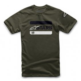 Triko - ALPINESTARS Barred Tee 2019 - Military Green