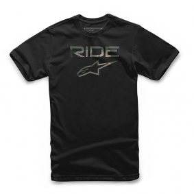 Triko - ALPINESTARS Ride 2.0 Camo Tee - Black