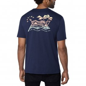Triko - DAKINE Electric Sunset T-shirt 2019 - Midnight
