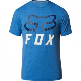 Triko - FOX Heritage Forger Ss Tech Tee - Heather Royal
