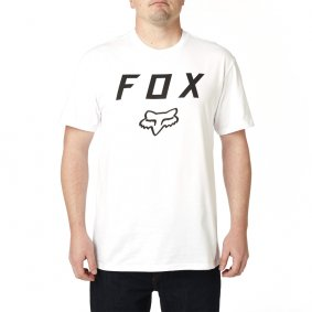 Triko - FOX Legacy Fox Moth Ss Tee 2019 - Optic White