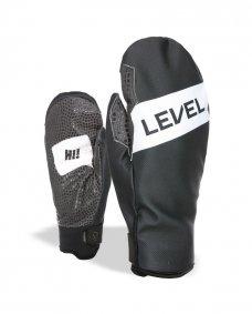 Zimní rukavice - LEVEL Web Mitt Black-Grey 606930bbd4