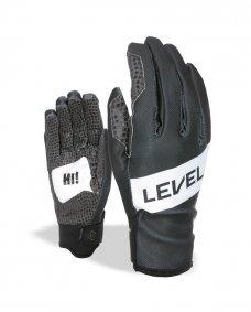 523cc033e1e Zimní rukavice - LEVEL Web - černá   šedá
