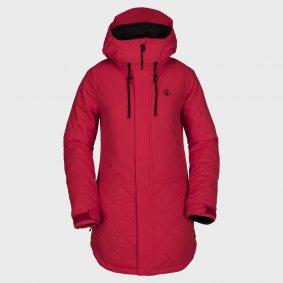 4f97dcf20 Dámská zimní bunda - VOLCOM Winrose Ins Jacket - červená